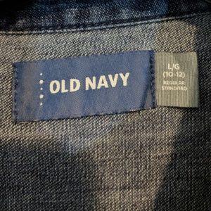 Old Navy Bottoms - 10/12 Denim jumpsuit / romper